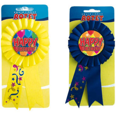 Rosette Happy Birthday