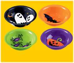 Halloween-Snackschale 3er Set