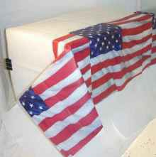 USA - Party Papier Tischdecke