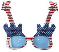 USA Mottoparty Sonnenbrille