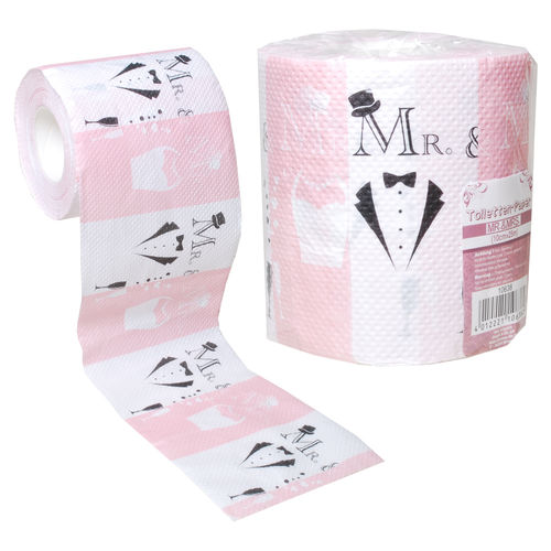 Toilettenpapier Mr. und Mrs.