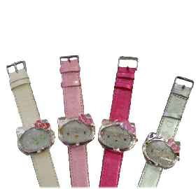 Hello Kitty Uhr Classic Shiny