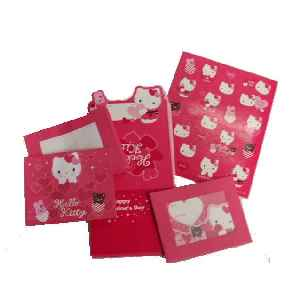 Hello Kitty Valentine Set