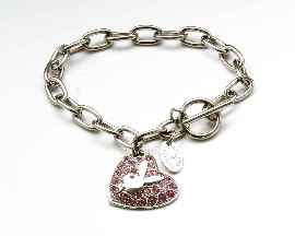 Playboy Armband Heart CB2677