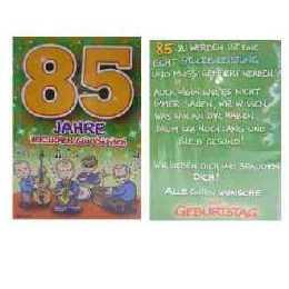 Spruche Zum 85 Geburtstag