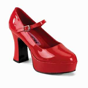 Plateau Pumps in rot
