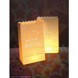 Luminaria Dekolichter Happy Birthday
