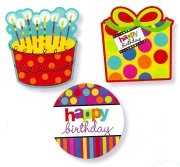 Happy Birthday Motiv Sticker
