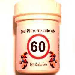 Geschenke 60 Geburtstag Die Pille Fur Alle Ab 60
