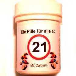 Geschenke 21 Geburtstag Die Pille Fur Alle Ab 21