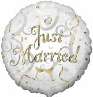 Just Married Folienballon