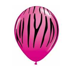 Pink Party Luftballons Stripe