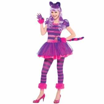 Lila Cheshire Cat Kostüm