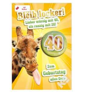 40 geburtstag geschenke deko geburtstagsgeschenke for Bastelideen zum 40 geburtstag