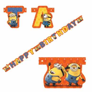 Minions Partykette