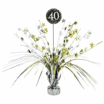 Tischaufsteller Celebration 40, black