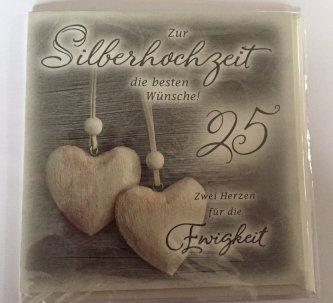 Silberhochzeit deko shop dekoration besondere geschenke for Dekoration zur silberhochzeit