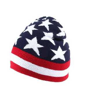 USA Wintermütze, Long-Beanie