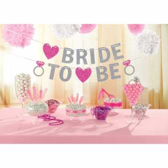 Bride to be Glitter Girlande