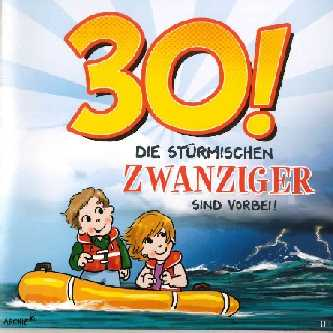 30 Geburtstag Gluckwunschkarte Mit Sound