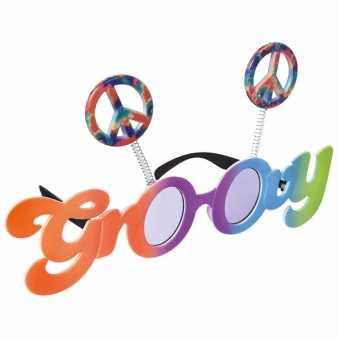 Groovy Peace Fun Brille