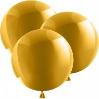 1 Luftballon XL - 80cm - Metallic GOLD
