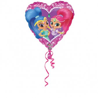 Folienballon Shimmer und Shine Love