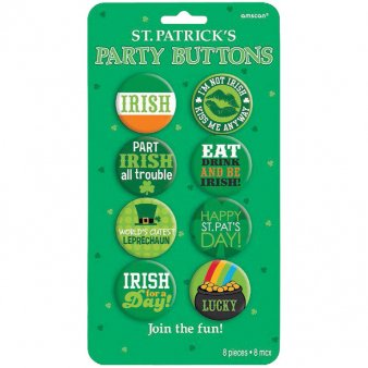 St.Patricks Day Buttonset