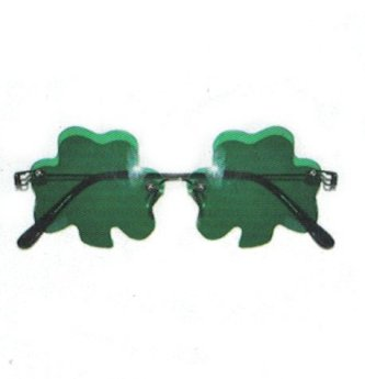 Brille für den St. Patricks Day