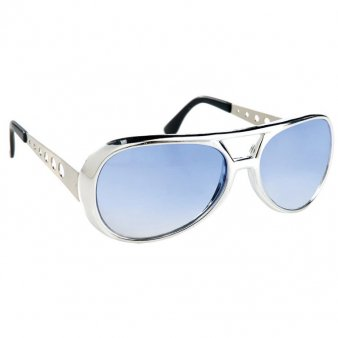 Funbrille Vegas, silver