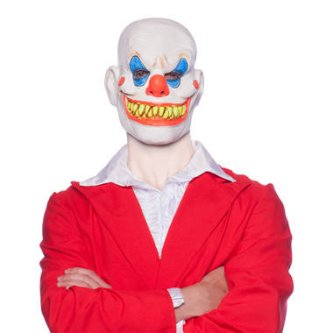 Latex Maske Horror Clown
