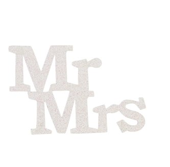 Mr. und Mrs. Dekoschild, 11 cm