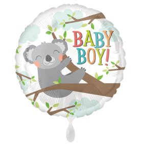 Folienballon Baby Boy-Koala