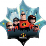 Incredibles 2  - Folienballon