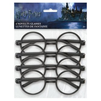 Brille Harry Potter, 4 Stück
