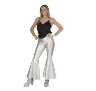 DISCO Hose, silber metallic 44/46