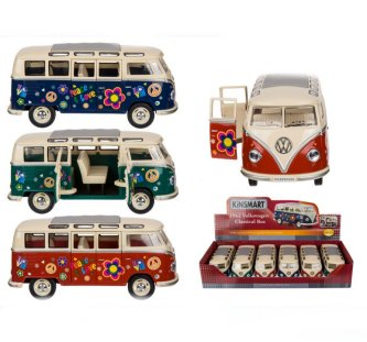 VW T1 Bus 1962 Peace u. Love, 17,5 cm