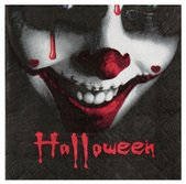 Servietten Blutiges Halloween