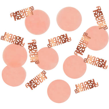 Konfetti Elegant Lush Blush Happy Birthday