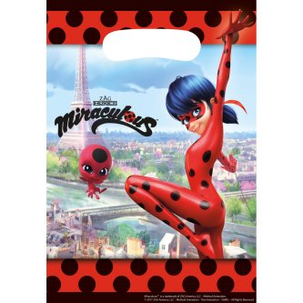 Give away Tüten Miraculous Ladybug