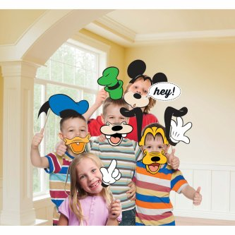 Fotorequisiten Set Mickey Mouse