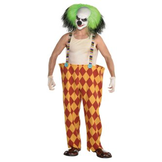 Sinister Horror Clown, XXL