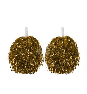 Cheerleader Pompom, gold