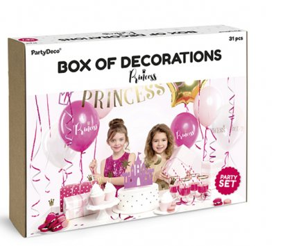 Dekoration Set Prinzessin