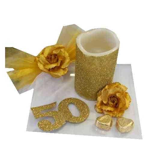 Goldene hochzeit deko shop dekoration besondere for Goldene hochzeit deko