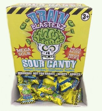 Brain Blasterz Sour Candy Drops