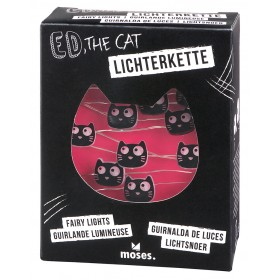 Ed, the Cat Mini-Lichterkette