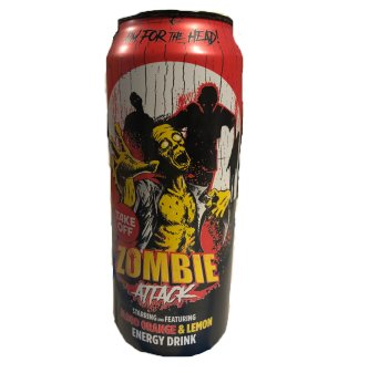 Energy Drink Zombie Attack, 500ml