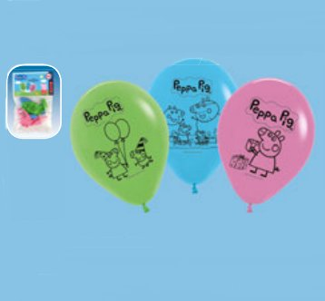 Peppa Pig Latex Luftballons.